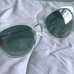 J Crew Piper Sunglasses Mist  Never Worn